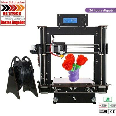 DE Klassische 3D Printer DIY i3 Upgradest High Precision Reprap Neue 3D Drucker