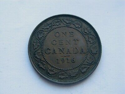 1916 Canada Large One Cent