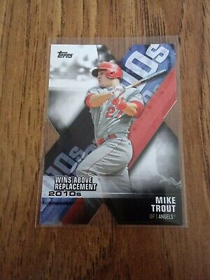 "2020 Topps ""Decade of Dominance Die-Cut"" Mike Trout NM Anaheim Angels MVP"