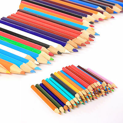 320 x Colouring Pencils Lead Coloured Childrens School Kids Art Craft Fun Crayon