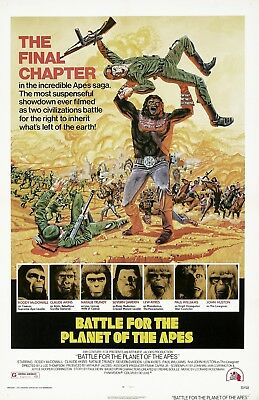 Battle For The Planet Of The Apes movie poster  - 11 x 17 inches