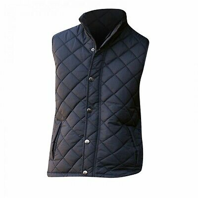 Front Row Ladies Diamond Quilted Gilet Shower Resistant Sleeveless Bodywarmer