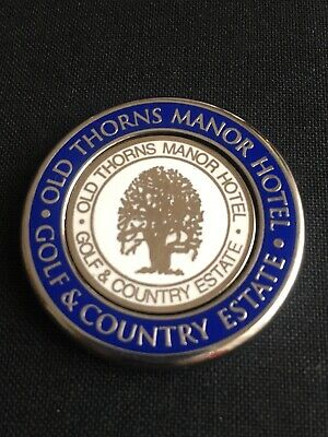 OLD THORNS MANOR Golf Ball Marker With Removable