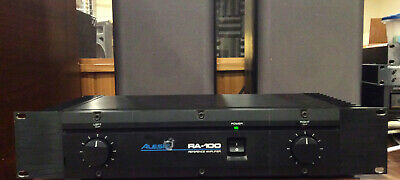 Alesis RA100 Studio Reference Amplifier, Rackmount