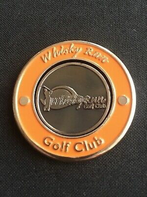 WHISKY RUN Canada Golf Ball Marker With Removable