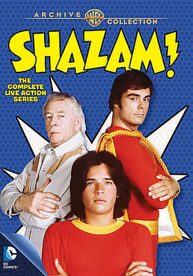 """""""Shazam! The Complete Live Action Series"""" Warner Archive DVD DC Comics"""