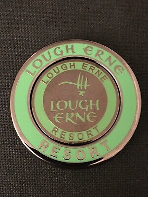 LOUGH ERNE. Golf Ball Marker With Removable.