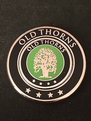 OLD THORNS. Golf Ball Marker With Removable