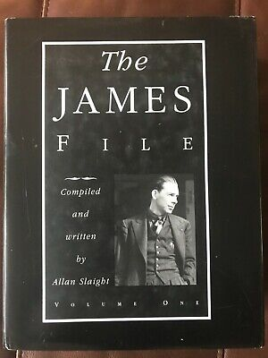 The James File--3 Book Set.  Compiled & written by Allan Slaight. Hermetic Press