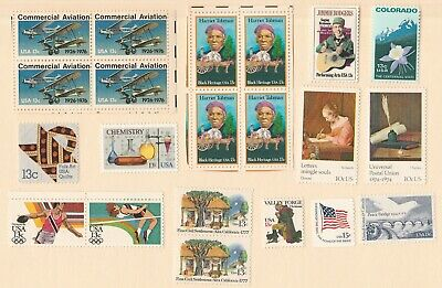 US stamp collection of 21 unused 13 cent Stamps  Lot #2