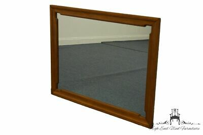 "TELL CITY Solid Hard Rock Maple Colonial Style 32x42"" Landscape Mirror 8306 -..."