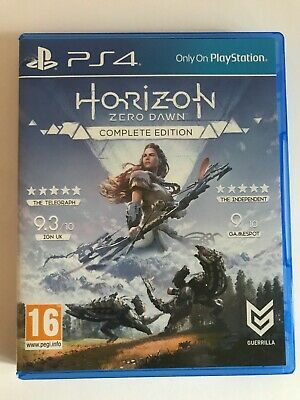 Horizon Zero Dawn Complete Edition PlayStation 4 (Small tear on the case)