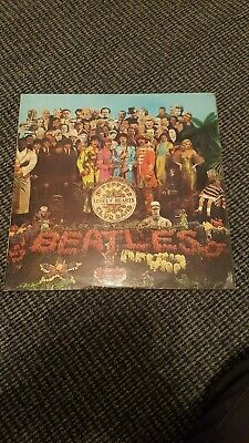 Beatles Sgt Peppers Lonely Hearts Club Band Vinyl. 1st Pressing.See Description.