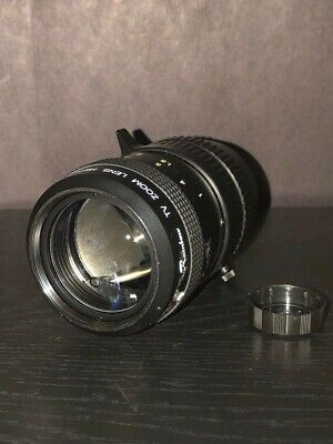 """Rainbow TV Zoom Lens H6X8 8-48mm 1:1.0 1/2"""" C Mount Lens (adapter not included)"""