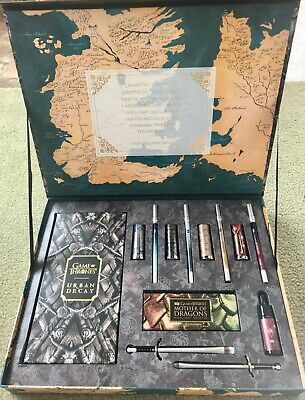 "Urban Decay- ""Game Of Thrones"" Vault -LIMITED EDITION SET NIB"