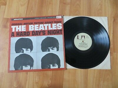 The Beatles Lp A Hard Day's Night Uas 6366 / 1975