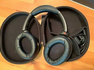 Sony WH-1000XM3 Wireless Noise Canceling Headphones - Black