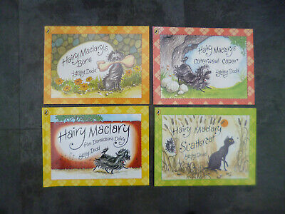 Childrens Pre School Books - 4X Hairy Maclary Paperback Books/Lynley Dodd