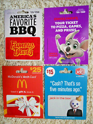Gift Cards, Collectible, new, unused, with backing, no value on cards     (F-12)
