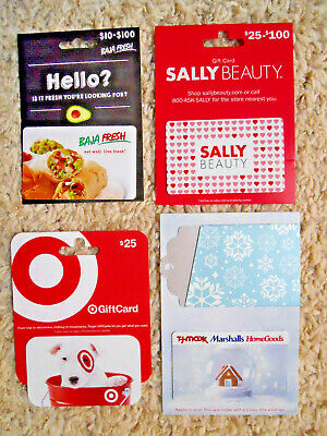 Collectible Gift Cards, unused, new, with backing, no value on cards     (J-11)