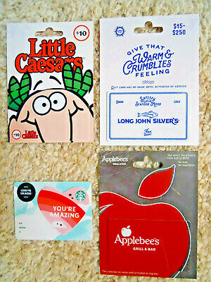 Collectible Gift Cards, new, unused, with backing, no value on cards      (P-6)