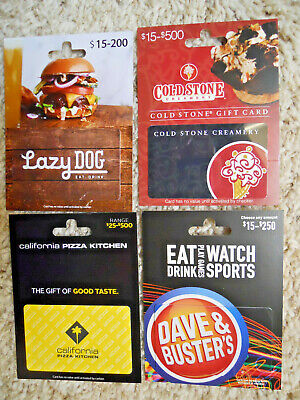 Collectible Gift Cards, unused, new, with backing, no value on cards     (J-1)