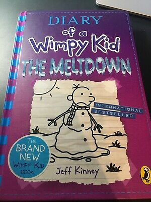 Diary of a Wimpy Kid: The Meltdown in pristine condition(Book 13) by Jeff Kinney