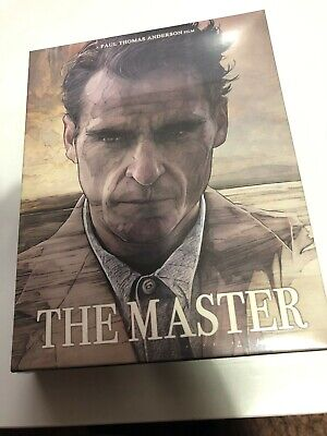THE MASTER (2012) Blu-Ray PLAIN ARCHIVE Korea Exclusive Keep Case Amaray