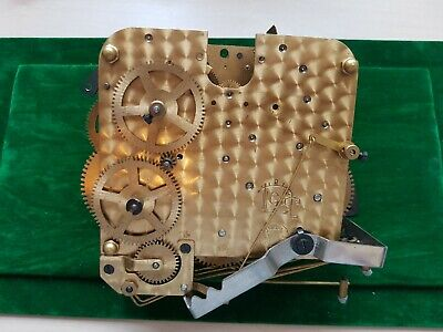 Antique Clock Parts JUBA GUTA Massive CLOCKMAKER Job Lot Bundle 2x comp Movement