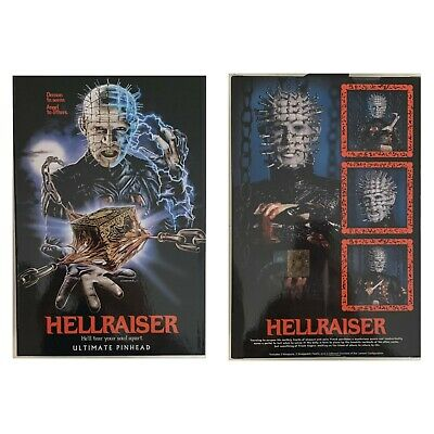 "ULTIMATE PINHEAD Neca HELLRAISER 2020 Horror 7"" Inch Action FIGURE"
