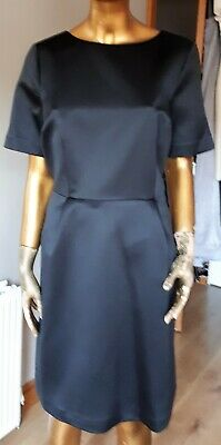 Marks and Spencer Autograph M&S Black Shift Dress Size 14 BNWT