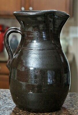 HAROLD HEWELL~ Large Pitcher / Jug ~ perfect condition Hewell pottery