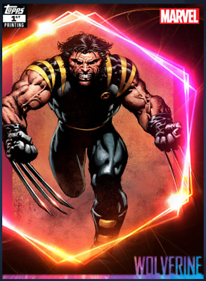 Topps Marvel Collect Wolverine Ultimate Universe 1st Printing DIGITAL CARD