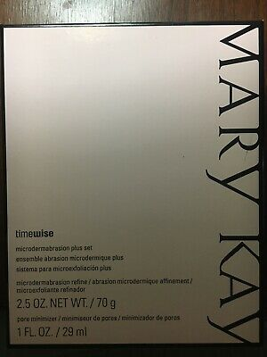 New in box Mary Kay Timewise Microdermabrasion Plus Set Refine  Pore Minimizer