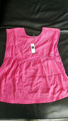 GAP Kids NEW With Tags Pink Dress/Beach coverup  - Small (6-7) Little Girls
