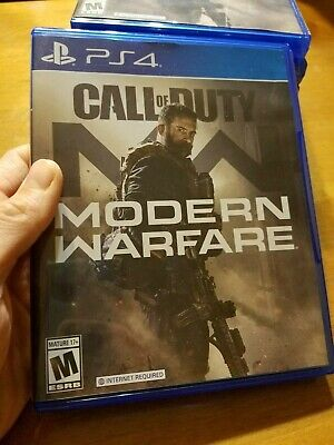 PS4 Playstation 4 Call of Duty Modern Warfare READ