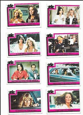 43 Topps Charlies Angels Cards 1977 No Doubles