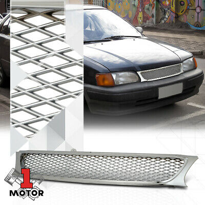 For 1995-1997 Toyota Avalon Grille Assembly 37828SD 1996 GRILLE; CHROME//BLACK