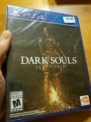 PS4 Playstation 4 Dark Souls Remastered BRAND NEW FACTORY SEALED READ