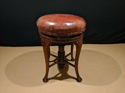 Vintage antique Piano Stool (collect only)