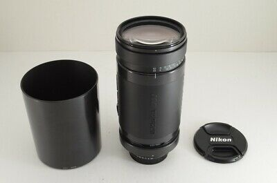 TAMRON AF 200-400mm F5.6 LD IF 75D Lens for Nikon F Mount w/ Hood #191128b