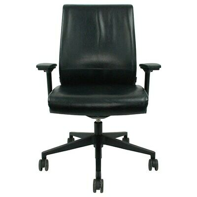 Steelcase Think Chair - Black Leather
