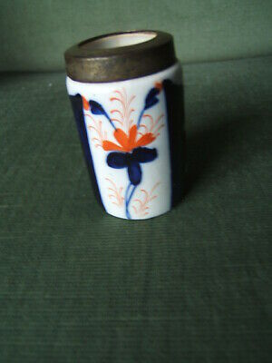 Small Hand Painted Pot - Possibly Victorian Or Georgian