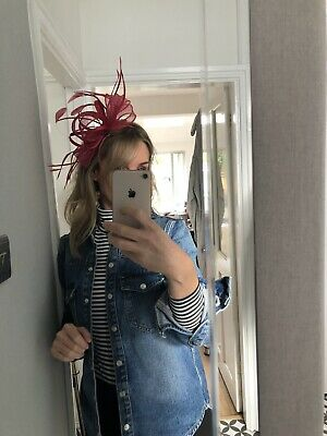 Large Wedding Fascinator Headband Aliceband Ladies Day Races Royal Ascot