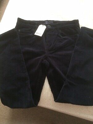 Next Boys Slim Fit Blue Corded Jeans, 12yrs, BNWT