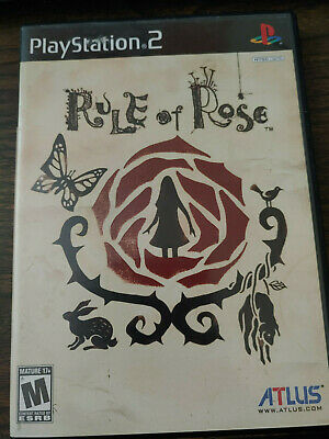 Rule of Rose Playstation 2 PS2 Complete Great condition!