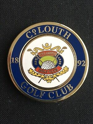 COUNTY LOUTH Golf Ball Marker With Removable