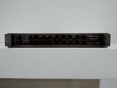 Pioneer eq-100 EQUALIZZATORE GRAFICO NEW OLD STOCK VINTAGE