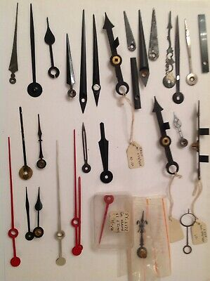 ANTIQUE CLOCK HANDS CLOCKMAKERS SPARE PARTS COLLECTION ref 519