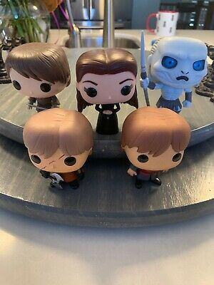 Funko Pop! Game Of Thrones OOB Loose Lot Sansa Stark, Arya, White Walker, Tyrion
